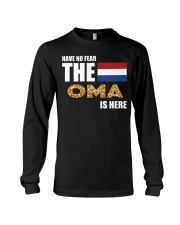 HAVE NO FEAR OMA IS HERE Long Sleeve Tee thumbnail