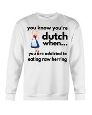 DUTCH HERRING FUNNY Crewneck Sweatshirt thumbnail