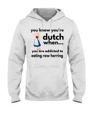 DUTCH HERRING FUNNY Hooded Sweatshirt thumbnail