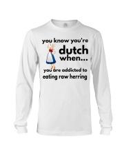 DUTCH HERRING FUNNY Long Sleeve Tee thumbnail
