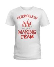 OLIEBOLLEN MAKING TEAM Ladies T-Shirt thumbnail