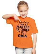 OMA PARTNER Youth T-Shirt lifestyle-youth-tshirt-front-2