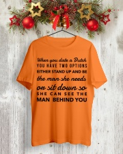 WHEN YOU DATE A DUTCH YOU HAVE TWO OPTIONS Classic T-Shirt lifestyle-holiday-crewneck-front-2