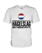HAGELSLAG FUNNY V-Neck T-Shirt thumbnail