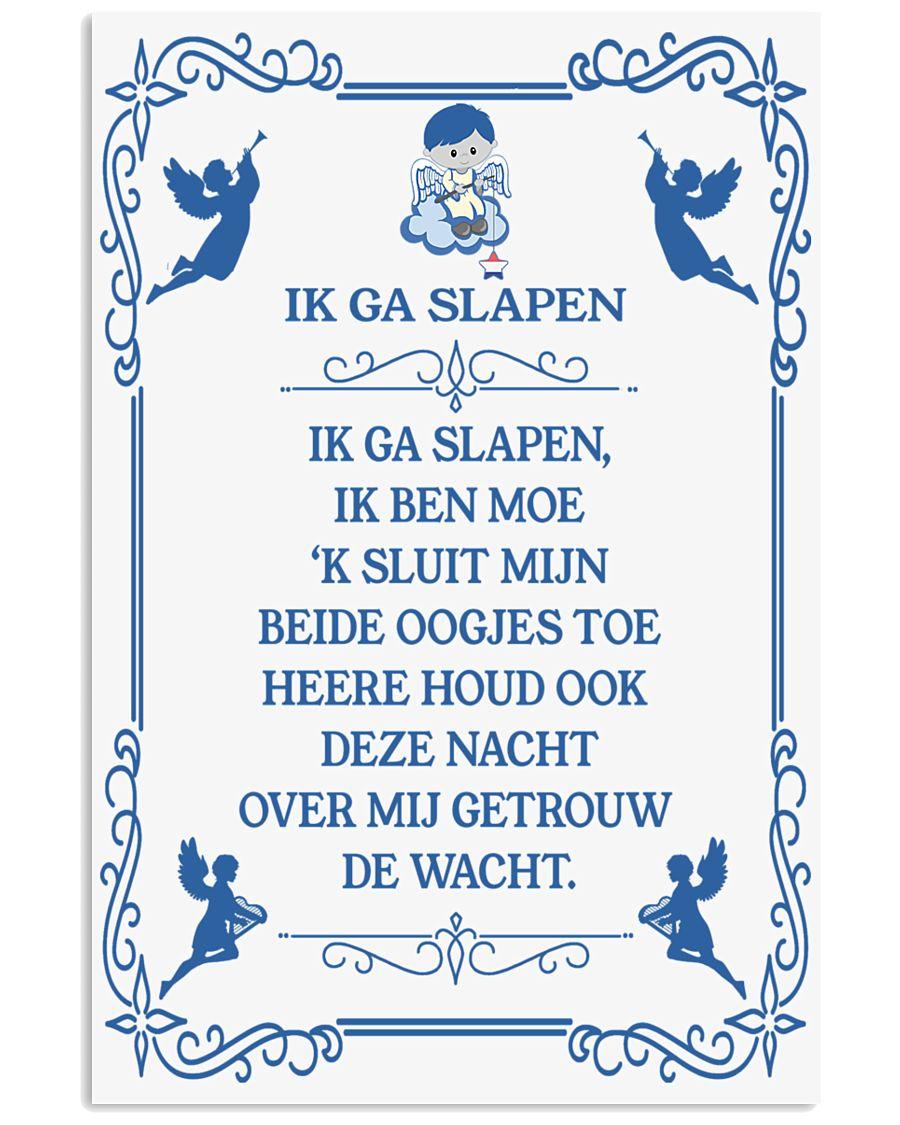 IK GA SLAPEN DUTCH BEDTIME PRAYER POSTER 16x24 Poster