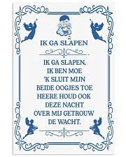 IK GA SLAPEN DUTCH BEDTIME PRAYER POSTER 16x24 Poster front