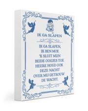 IK GA SLAPEN DUTCH BEDTIME PRAYER POSTER 11x14 Gallery Wrapped Canvas Prints thumbnail