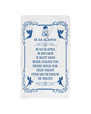 IK GA SLAPEN DUTCH BEDTIME PRAYER POSTER Hand Towel thumbnail