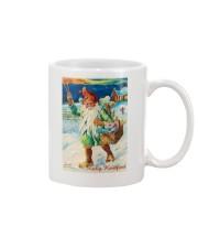 DUTCH MERRY CHRISTMAS VINTAGE Mug tile