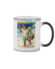 DUTCH MERRY CHRISTMAS VINTAGE Color Changing Mug tile