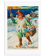 DUTCH MERRY CHRISTMAS VINTAGE 11x17 Poster front