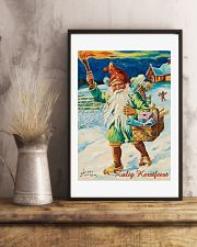 DUTCH MERRY CHRISTMAS VINTAGE 11x17 Poster lifestyle-poster-3