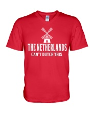 THE NETHERLANDS CAN'T DUTCH THIS V-Neck T-Shirt thumbnail