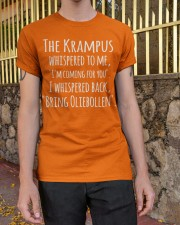 THE KRAMPUS - BRING OLIEBOLLEN Classic T-Shirt apparel-classic-tshirt-lifestyle-21