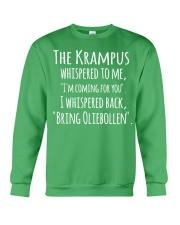THE KRAMPUS - BRING OLIEBOLLEN Crewneck Sweatshirt thumbnail