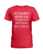 THE KRAMPUS - BRING OLIEBOLLEN Ladies T-Shirt thumbnail