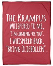 "THE KRAMPUS - BRING OLIEBOLLEN Small Fleece Blanket - 30"" x 40"" thumbnail"