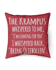 "THE KRAMPUS - BRING OLIEBOLLEN Indoor Pillow - 16"" x 16"" thumbnail"