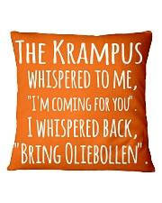 THE KRAMPUS - BRING OLIEBOLLEN Square Pillowcase thumbnail