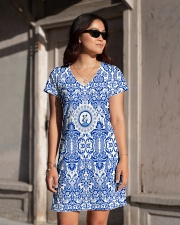 THE NETHERLANDS DRESS All-over Dress aos-dress-front-lifestyle-1