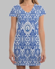 THE NETHERLANDS DRESS All-over Dress aos-dress-front-lifestyle-3