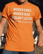 WOODEN SHOES WOODEN HEAD Classic T-Shirt apparel-classic-tshirt-lifestyle-28