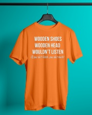 WOODEN SHOES WOODEN HEAD Classic T-Shirt lifestyle-mens-crewneck-front-3