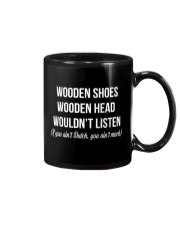 WOODEN SHOES WOODEN HEAD Mug thumbnail