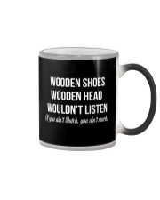 WOODEN SHOES WOODEN HEAD Color Changing Mug thumbnail