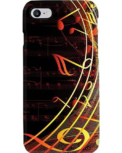 iPhone music theme phone
