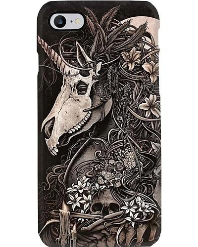 iPhone Unicorn Skeleton