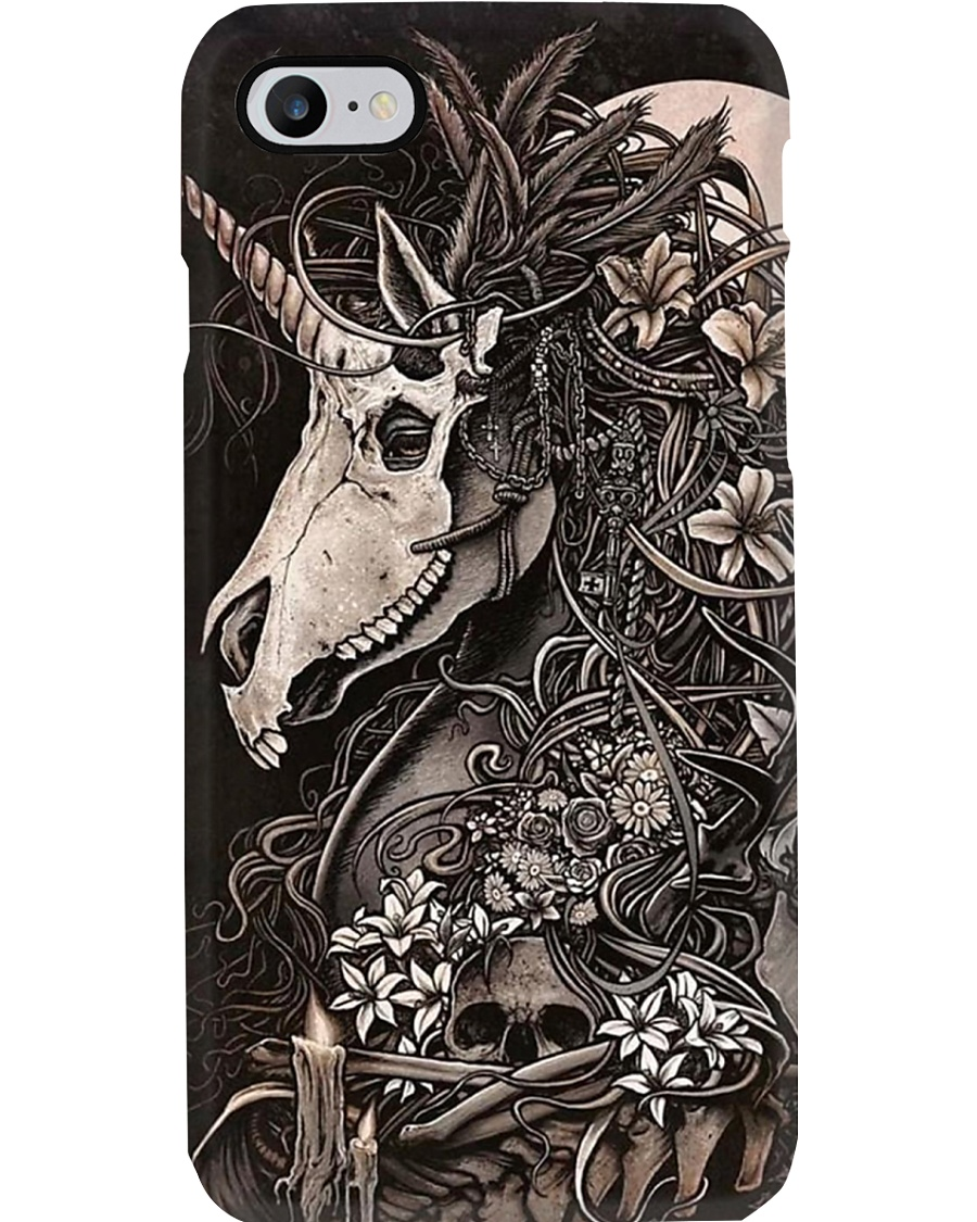 iPhone Unicorn Skeleton  Phone Case