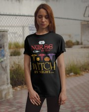 Nurse By Day Witch By Night Classic T-Shirt apparel-classic-tshirt-lifestyle-18