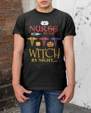 Nurse By Day Witch By Night Classic T-Shirt apparel-classic-tshirt-lifestyle-31