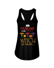 Nurse By Day Witch By Night Ladies Flowy Tank thumbnail
