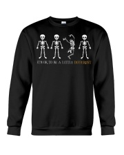 It's Ok To Be a Little Different Crewneck Sweatshirt thumbnail