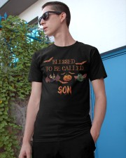Blessed To be Called Son Classic T-Shirt apparel-classic-tshirt-lifestyle-17