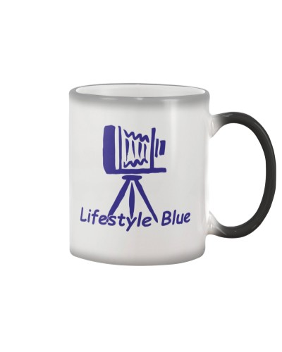 Lifestylblue White Mug