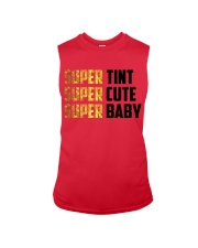 Super Baby onesies And shirt-funny-family  Sleeveless Tee thumbnail