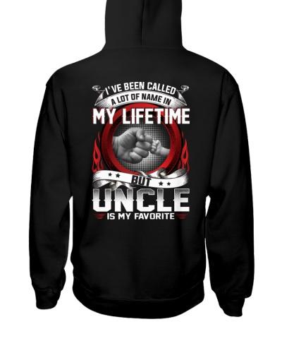 Uncle Is My Favorite Shirt Hoodies