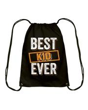 Best Kid Ever Shirt Mug And Oneses-Funny Family Drawstring Bag thumbnail