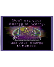 Buddha Spiritual Quote Rainbow Enlightenment Rectangle Cutting Board front