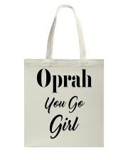 Oprah You Go Girl Product Line Tote Bag thumbnail