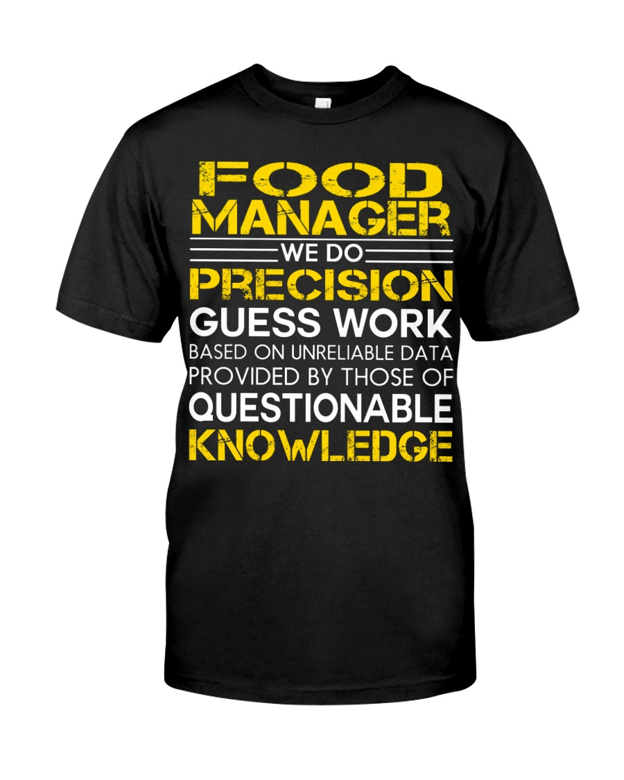 PRESENT FOOD MANAGER Classic T-Shirt