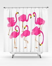 Awesome Flamingo Curtains Shower Curtain aos-shower-curtains-71x74-lifestyle-front-02