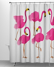 Awesome Flamingo Curtains Shower Curtain aos-shower-curtains-71x74-lifestyle-front-06