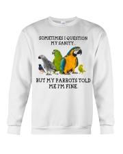 Parrot Crewneck Sweatshirt thumbnail