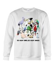 Many birds Crewneck Sweatshirt thumbnail