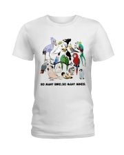 Many birds Ladies T-Shirt front