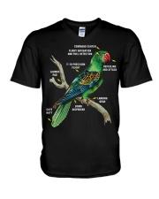 Parrot V-Neck T-Shirt thumbnail